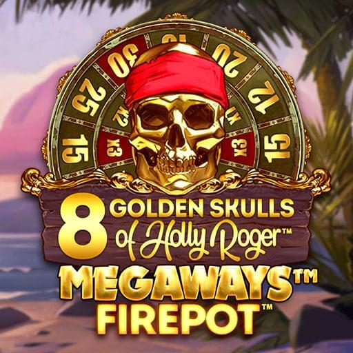 8 Golden Skulls Of Holly Roger - MegaWays