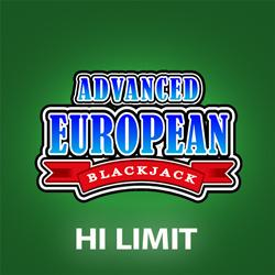 High Limit European Advanced Blackjack