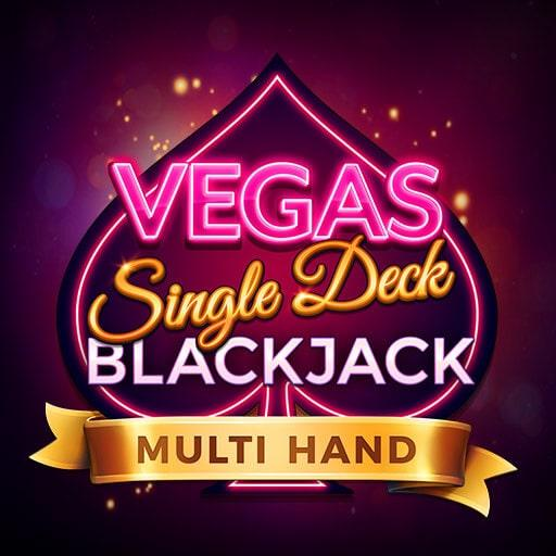 Multihand Vegas Single Deck Blackjack